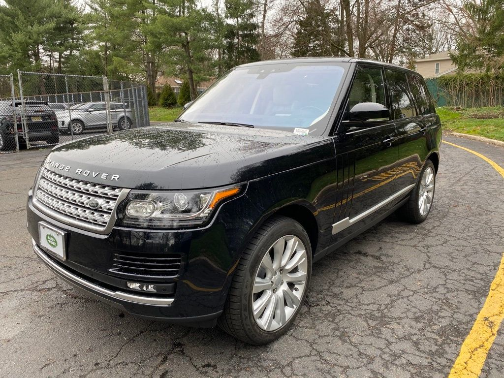 Pre-Owned 2017 Land Rover Range Rover V8 Supercharged SWB