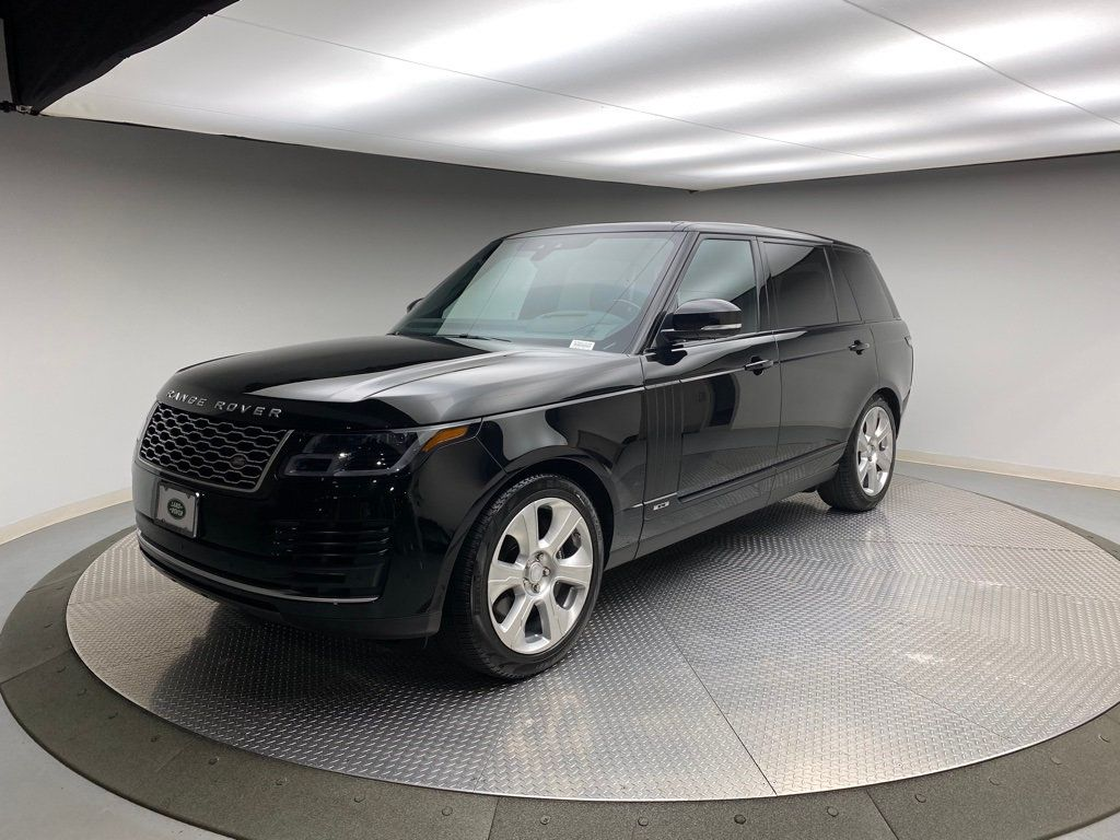 Pre-Owned 2018 Land Rover Range Rover V8 Supercharged LWB