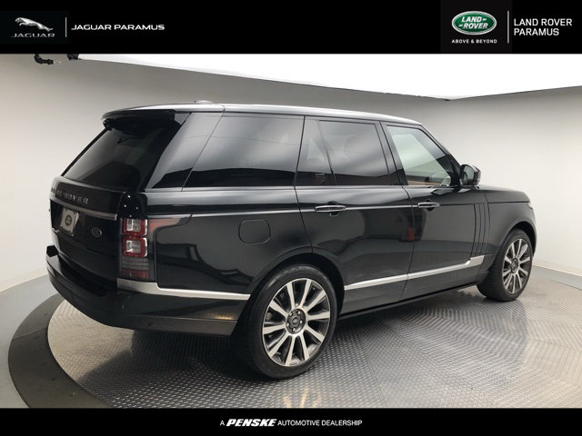 Certified Pre-Owned 2015 Land Rover Range Rover 4WD 4dr Autobiography