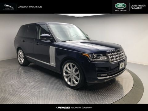 Certified Pre-Owned 2015 Land Rover Range Rover 4WD 4dr HSE