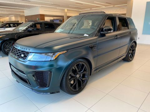 New 2020 Land Rover Range Rover Sport V8 Supercharged SVR